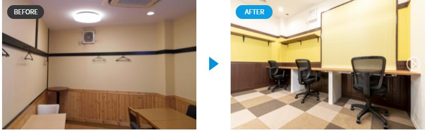 葛飾青砥Before&After